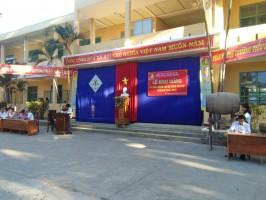 Buổi lễ khai giảng năm học 2018- 2019 của trường TH Nguyễn Thái Húy