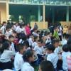 Trường TH Nguyễn Thái Húy tổ chức trung thu cho các em học sinh