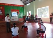 Nhân kỉ  niệm ngày Quân đội nhân dân Việt Nam, trường TH Nguyễn Thái Húy tổ chức hội thi Rung chuông vàng cho học sinh